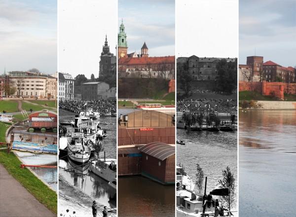 (#28) Zamek Królewski na Wawelu, bulwary wiślane i barki