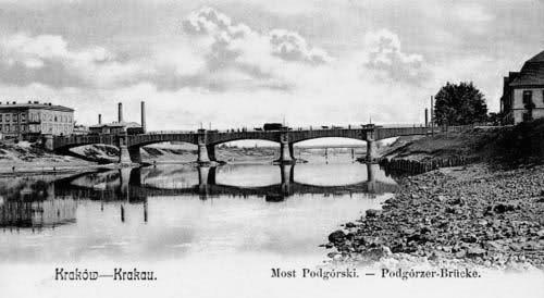 (#67) Bulwary Wiślane, widoczne Mosty Piłsudskiego, Powstańców Śląskich i Krakusa