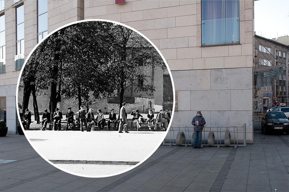 (#81) Plac Jana Nowaka-Jeziorańskiego i kamienica zasłonięta hotelem