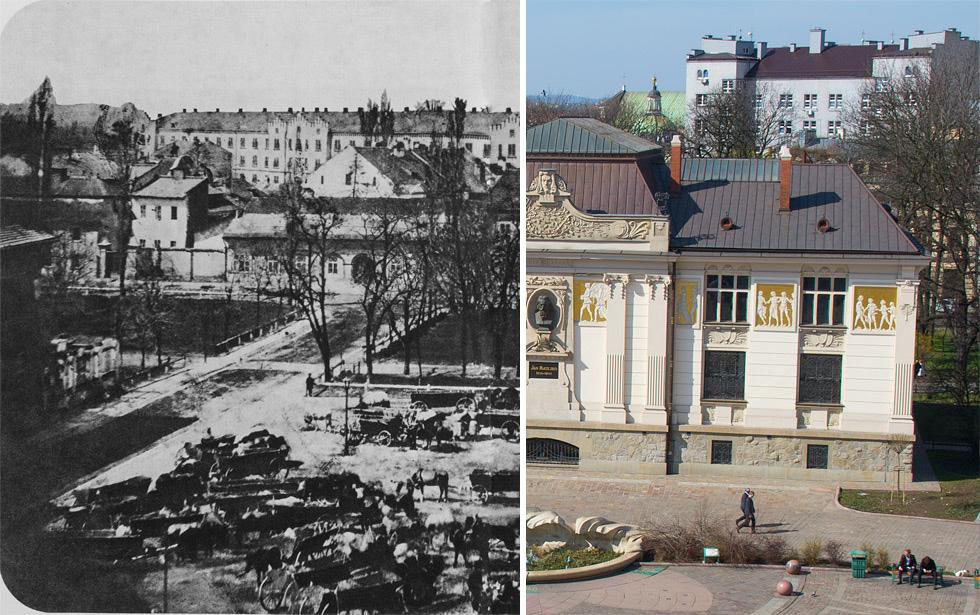 (#89) Plac Szczepański w bardzo starym wydaniu